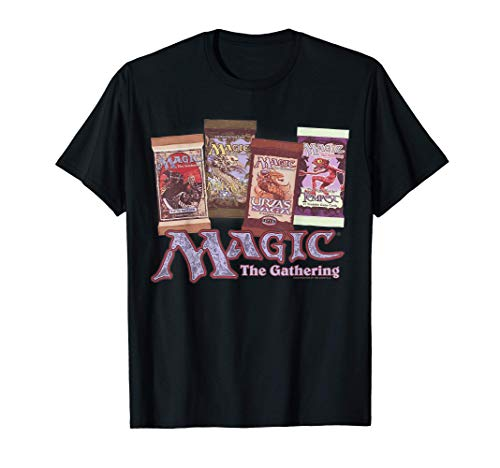 Magic: The Gathering Card Packs Logo Camiseta