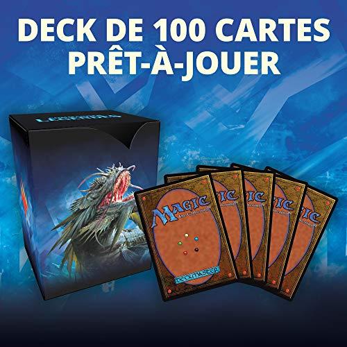 Magic The Gathering Commander Leygendes - Recoge el Fruto de Las Mareas   Deck de 100 Cartas Listas para Jugar   1 Comandante Premium   Azul Verde C78581010