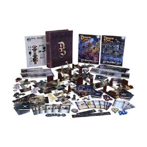 Mantic Games Juegos Marca MANTIC - Modelo MGDS01 - línea «Dungeon Saga The Dwarf Kings Quest» - Juego de Mesa estratégico de Aventuras con miniaturas de 28mm