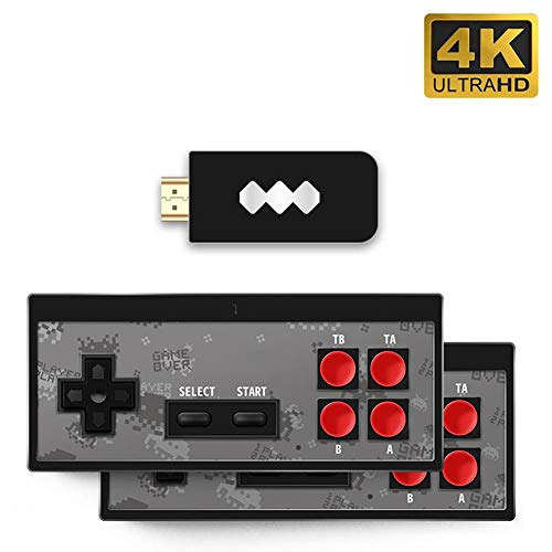 Máquina de Juegos nostálgica, con Controlador portátil USB Gamepad Consola de Juegos HDMI HD Incorporado 568 Videojuegos clásicos