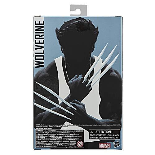 Marvel- Wolverine Figura de acción (Hasbro E87075L0)