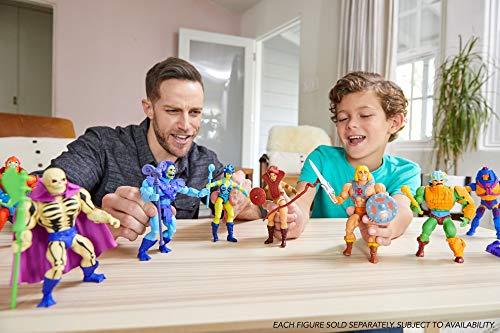 Masters of the Universe He-Man, figura de acción para niños y niñas +6 años (Mattel GNN85)
