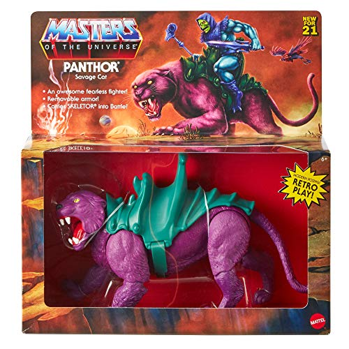 Masters of the Universe Origins Panthor Action Figure (Mattel GVN49)