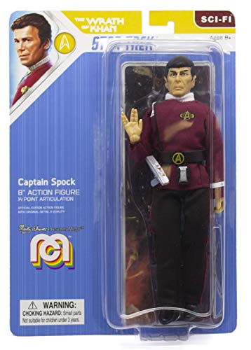 Mego - Figura Star Trek Spock de La ira de Khan (Bizak, 64032873)