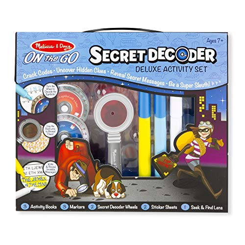 Melissa & Doug- Secret Decoder Deluxe Activity Kit (15238) , color/modelo surtido