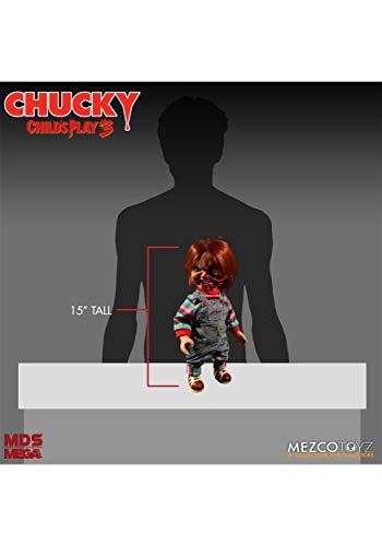 Mezco Child'S Play 3: Chucky Talking Doll Pizza Face Version Standard