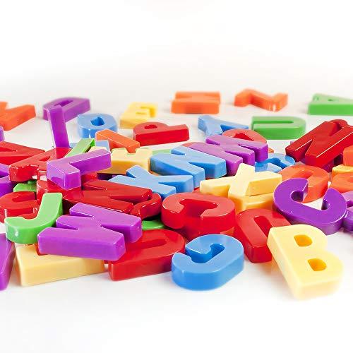 Miniland - Letras magnéticas Mayúsculas, 76 piezas (45312)