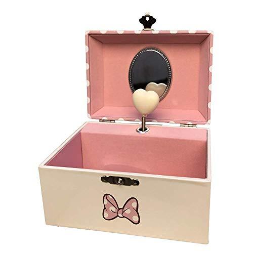 Minnie Mouse- Joyero Caja Musical de Minnie, Multicolor, única (Kids Licensing WD20323)