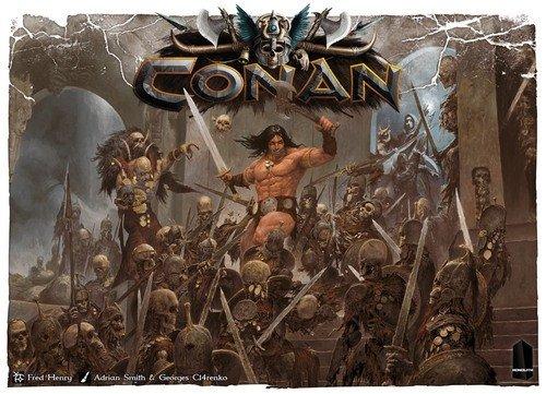 Monolith Board Games Conan - Juego de Mesa (Idioma español no garantizado)