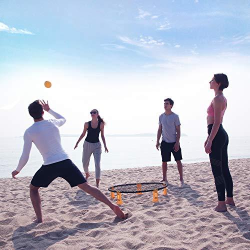 Mookis Blinngoball Mini Juego de Pelota de Playa Outdoor Games Set al Aire Libre o a Cubierto, sobre el césped