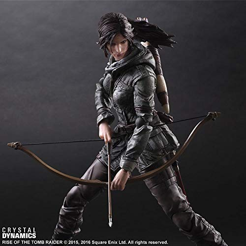 Mopoq Play Arts Modified Rise of the Tomb Raider PA Modified Laura Boxed Modelo móvil