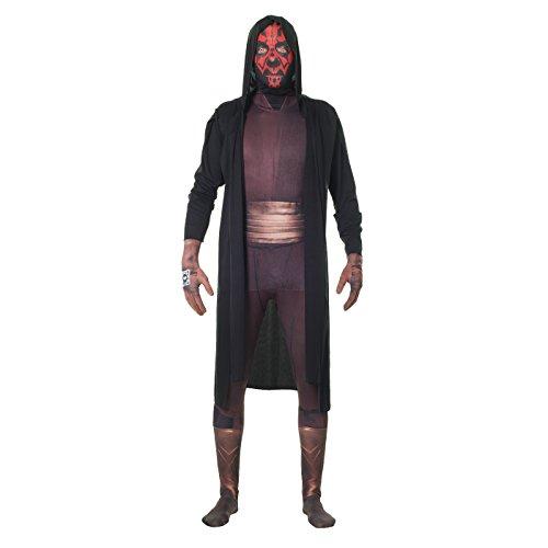 Morphsuits - Disfraz para Adulto Darth Maul, Star Wars, Talla M (MLZDMM)