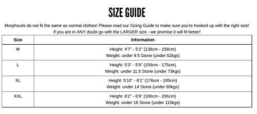 Morphsuits- Msuit Disfraces para adultos, Color verde, XL (STSGRX)