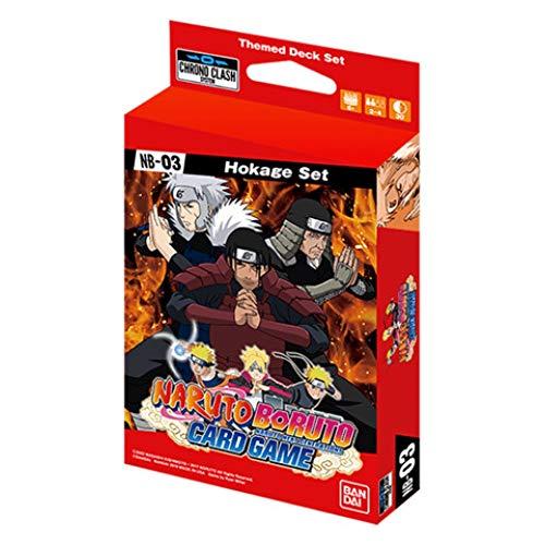 Naruto CG: Expansion Deck Set NB03 - Hokage Set