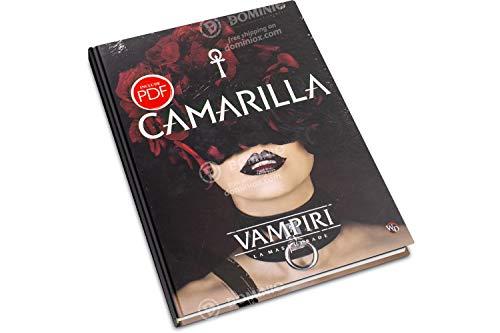 Need Games! Vampiri: la Masquerade Camarilla - Manuale d'espansione in Italiano