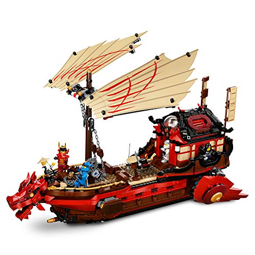 Ninjago Legacy Barco de Asalto NinjaSet, Juego de Batalla Naval, multicolor (Lego ES 71705)