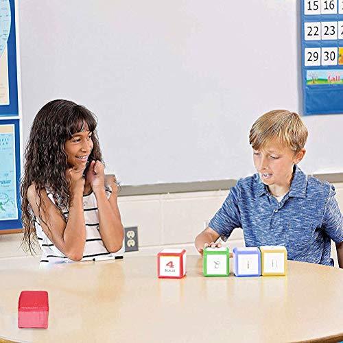 Niños DIY Educación Que juegan los Dados con Bolsillos Laterales de Espuma apilar Bloques Juguetes educativos