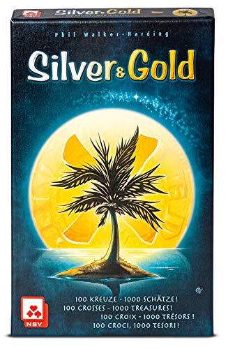 NSV - 4089 - Silver & Gold - International - Juego de Cartas