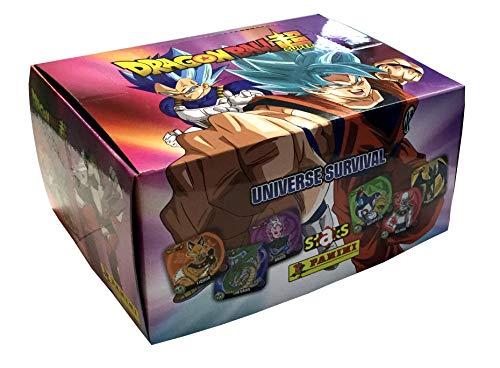 Panini SA- Caja 50 Sobres Staks Dragon Ball Super (004044BOX50E)