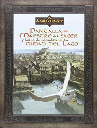Pantalla del Maestro del Saber Y Libro De Consulta De La Ciudad del Lago