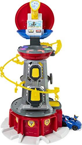 PAW Patrol Mighty Pups - Juego de Torre con Luces y Sonidos para niños de 3 años y más