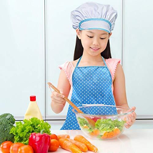 PETUFUN Childrens Chef Outfit Set de chef para niños, juego completo de cocina y de horno, juguetes para juegos de roles de chef, Dress Up Costume Play Set for Toddler – 11 piezas