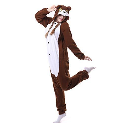 Pijamas Cosplay Pijamas De Una Pieza Ropa De Dormir Carnaval Camisones Disfraz De Personaje Halloween Ropa De Una Pieza Navidad Ropa De Casa Niña Ardilla