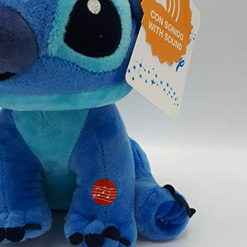 playbyplay Disney Stitch - Peluche de 28 cm con Sonido