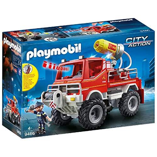 PLAYMOBIL City Action Todoterreno con Efectos de Luz y Sonido, a Partir de 5 Años (9466)