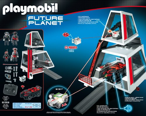 PLAYMOBIL - Darksters cuartel General (5153)
