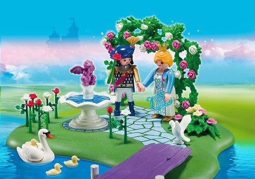 PLAYMOBIL Princesas - Princess Isla de la Princesa y Góndola Romántica Juguetes y Juegos 5456