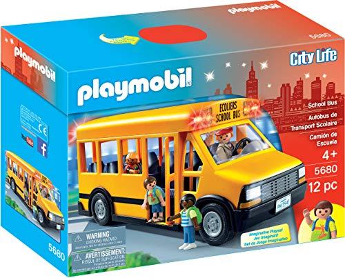 PLAYMOBIL School Bus Vehicle Playset