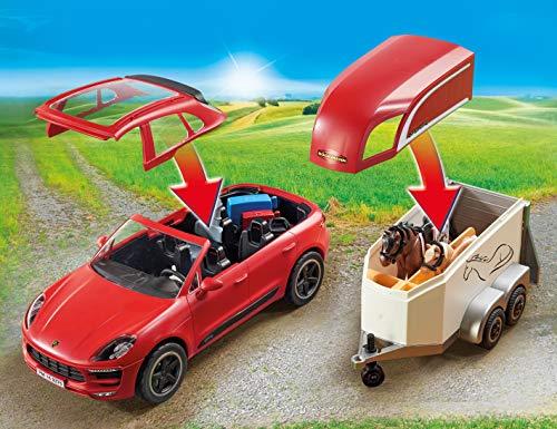 PLAYMOBIL Sports & Action Porsche Macan GTS con Efectos de Luz, a Partir de 4 Años (9376)