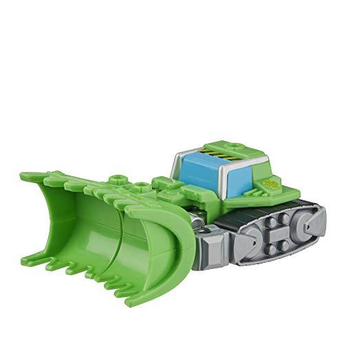 Playskool Heroes Transformers Rescue Bots Academy Boulder The Construction-BOT, Juguete de conversión de 4.5 Pulgadas, Figura de acción para niños a Partir de 3 años