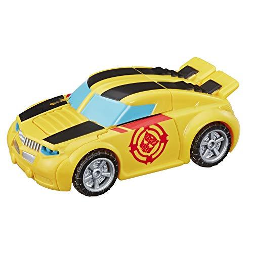 Playskool Heroes Transformers Rescue Bots Academy Bumblebee - Robot de Juguete para convertir, Figura de acción de 4.5 Pulgadas, Juguetes para niños a Partir de 3 años