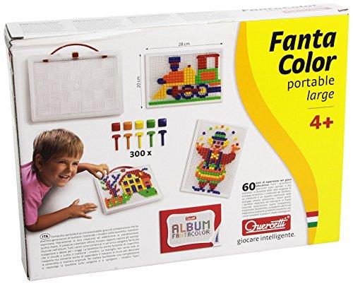 Quercetti - 13/0954 - Juego Fantacolor 300 piezas Quercetti 4 años , color/modelo surtido
