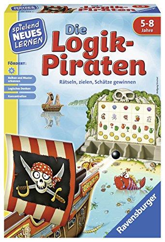 Ravensburger Juego y Aprendizaje 24969 – Los Piratas lógicos