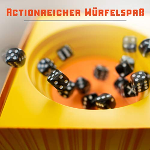 Ravensburger Strike Dice game - Versión española, Family Game, 2-5 Jugadores, Edad recomendada 8+ (26840)