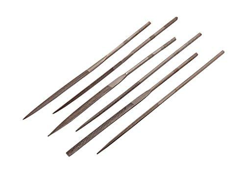 Revell- 6 limas de Agujas Mini Diferentes para Hacer Modelos (Pk6), Color metálico, Länge ca. 14 cm (39077) , color/modelo surtido