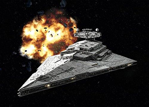 Revell- Imperial Destroyer Astronave Star Wars, 10+ Años, Multicolor (03609)