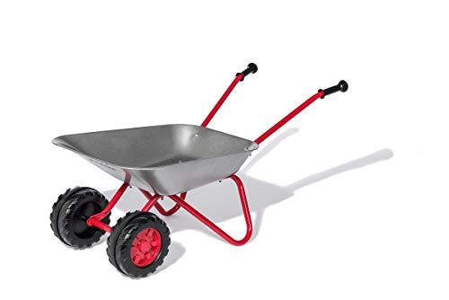 Rolly Toys Carretilla de Metal (con Doble Rueda, Asas cómodas, hasta 25 kg, a Partir de 2 ½ años) 271849