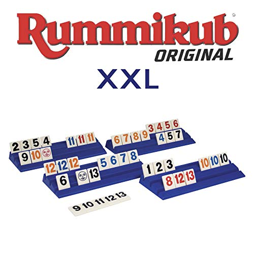 Rummikub-En Español XXL-Fichas Extra Grandes (Goliath 50458)