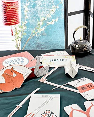 Sala de escape en el hogar   Anfitrión de su propia noche de juegos   Temática Japonesa   Fin interactivo   Para cumpleaños, Juegos de fiesta, Después de la cena Fiestas, Navidad, Regalo, Entretenimie