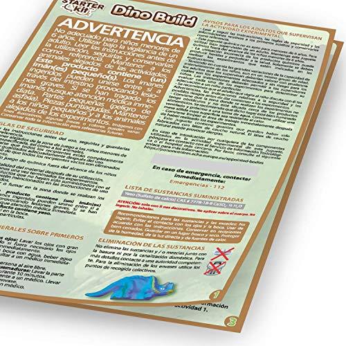 Science4you-Starter Kit Dino Build – Construye tu Dinosaurio, Juguete Científico y Educativo, Primeros Pasos, Fósiles para Niños 8 Años (80002585)