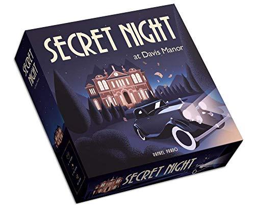 Secret Night at Davis Manor Juego de Mesa de Misterio (Castellano e Inglés)