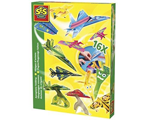 SES Creative- Set de Montaje de Aviones para niños SES, Multicolor (00852)