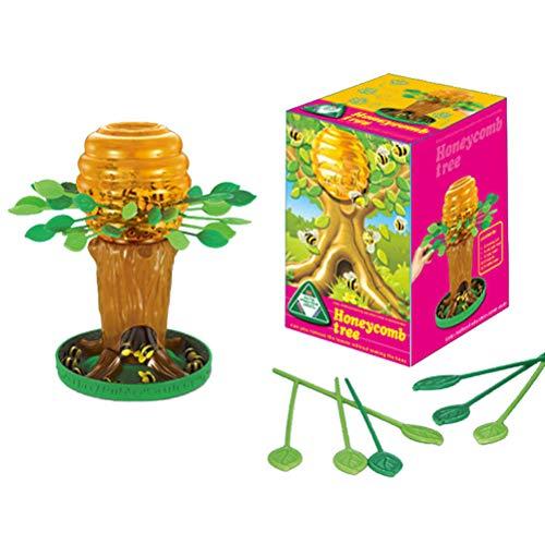 Shenruifa - Juego de mesa para niños, diseño de árbol de abeja de miel para padres e hijos