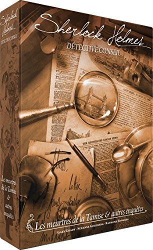 Sherlock Holmes Detective Consejo: Los asesinatos de la Tamise y Otras investigaciones, Multicolor (Asmodee SCSHDC01FR)