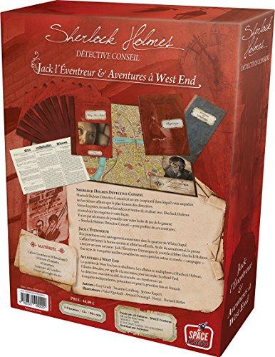 Sherlock Holmes - Juego de Mesa con diseño de Jack el escurridor y Aventuras en West End