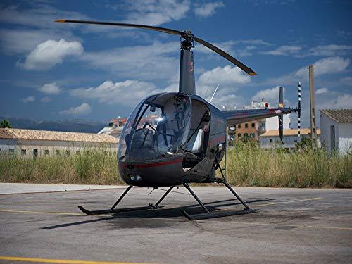 Smartbox - Caja Regalo - Bautizo aéreo en helicóptero Robinsson R22 en Palma de Mallorca (1h) - Ideas Regalos Originales